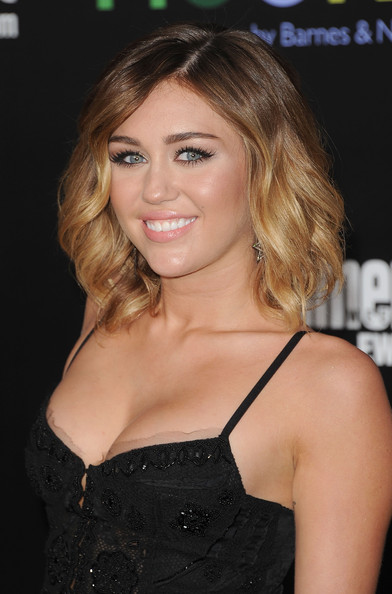 shoulder length hairstyles miley cyrus