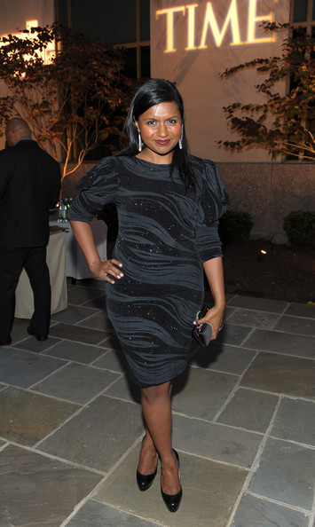 Mindy Kaling Satin Clutch
