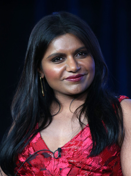 Mindy Kaling Gold Dangle Earrings