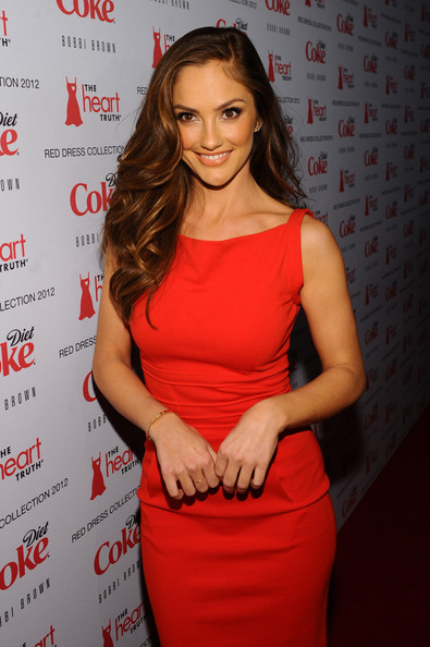 Actress Minka Kelly attends the Heart Truth's Red Dress Collection 2012 ...