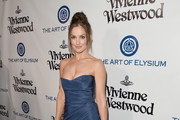Minka Kelly Strapless Dress