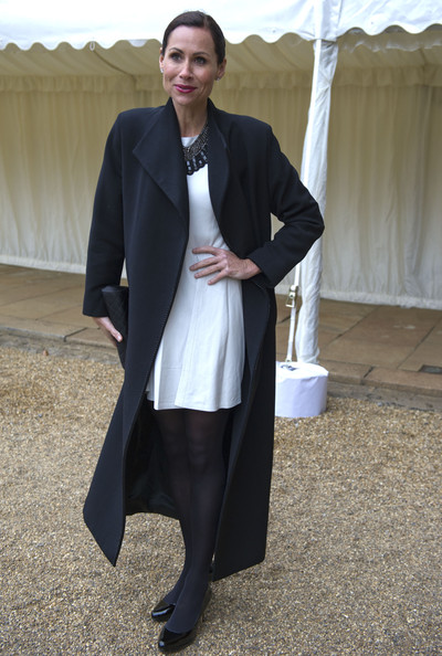 Minnie Driver Wool Coat