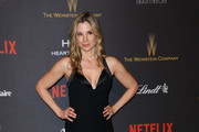 Mira Sorvino Halter Dress