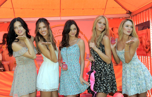 Victoria's Secret Bombshells Kick Off The Bombshell Summer Tour At The Grove In Los Angeles
