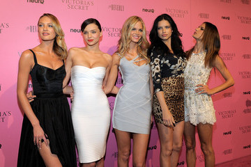 Miranda Kerr Erin Heatherton Victoria's Secret Bombshells Celebrate The Reveal Of The What Is Sexy? List At The Beverly In Los Angeles