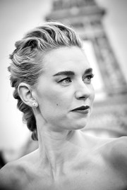 Vanessa Kirby styled her hair into a classic French braid for the global premiere of 'Mission: Impossible — Fallout.'