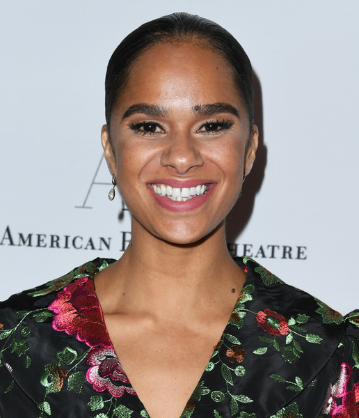 Misty Copeland Croydon Facelift [hair,hairstyle,eyebrow,beauty,lip,smile,premiere,black hair,misty copeland,annual holiday benefit,beverly hills,california,the beverly hilton hotel,american ballet theatre]