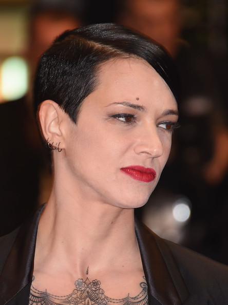 Asia Argento looked super edgy with her masculine-chic 'do at the Cannes Film Festival premiere of 'Misunderstood.'