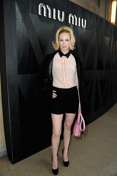 More Pics of January Jones Leather Shoulder Bag (1 of 13) - January Jones Lookbook - StyleBistro