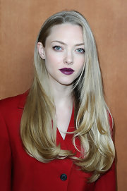 What do you think of Amanda's dark mulberry lips?