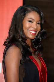 Gabrielle's sumptuous curls added instant glam to her red carpet look.