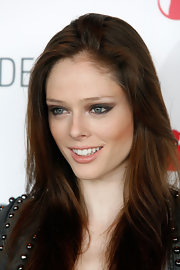 Coco Rocha used a combination of neutrals to create her smoky-eyed look at the Modelinia Beautiful Friends Forever bracelet launch.