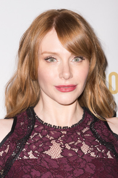Bryce Dallas Howard looked pretty with her loose waves and side-swept bangs at the Moet Moment Film Festival.