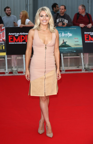 Mollie King Day Dress [swiss army mam,red carpet,clothing,dress,carpet,premiere,cocktail dress,flooring,shoulder,fashion,event,mollie king,empire live,imperium,double bill gala screening,bill gala screening,cineworld 02 arena,england,london,red carpet arrivals]