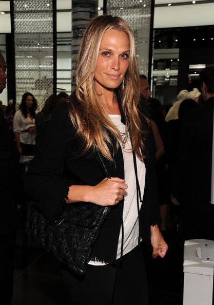 Molly Sims Quilted Leather Bag