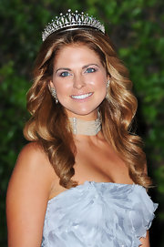 Princess Madeleine debuted lush and touchable hair styled in soft ringlets at the Monaco Royal Wedding.