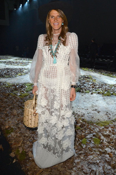 Anna dello Russo at Moncler Gamme Rouge