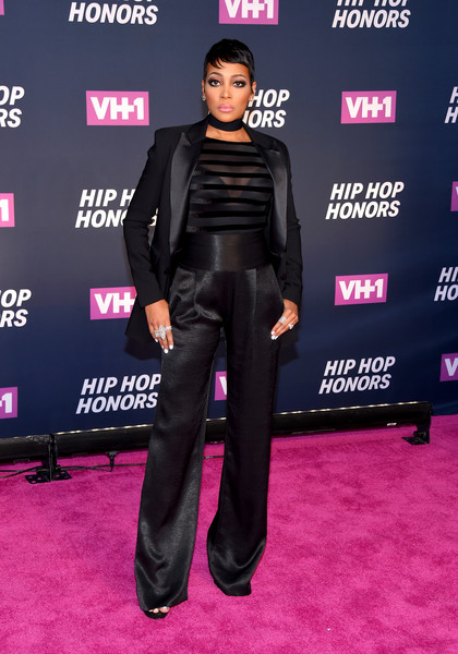 Monica Pantsuit [clothing,carpet,red carpet,premiere,flooring,event,suit,footwear,leather,performance,vh1 hip hop honors: all hail the queens - arrivals,new york city,david geffen hall,monica]