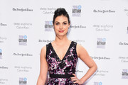Morena Baccarin Print Dress