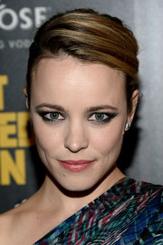Rachel McAdams styled her hair into a sophisticated side-parted bun for the premiere of 'A Most Wanted Man.'