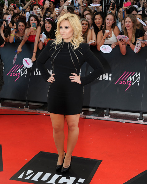 Demi Lovato Wore Saint Laurent at the MuchMusic Video Awards