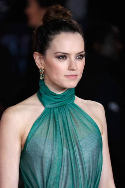 More Pics of Daisy Ridley Classic Bun (1 of 14) - Updos Lookbook - StyleBistro