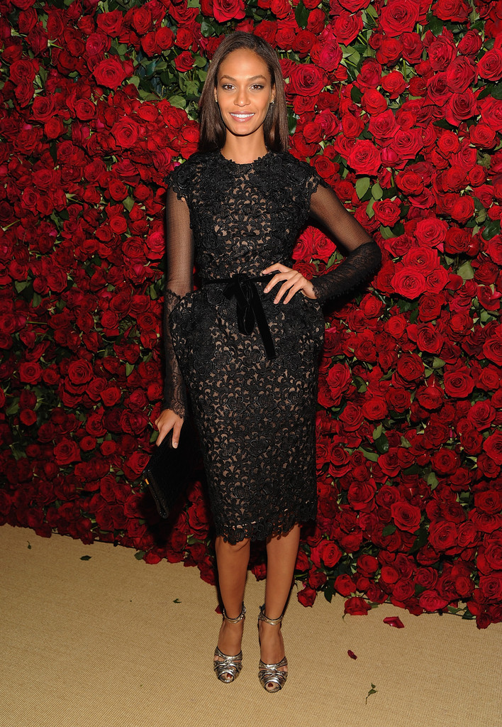 "Model Joan Smalls attends the Museum of Modern Art&squot;s 4th Annual Film benefit ""A Tribute to Pedro Almodovar"" at the Museum of Modern Art on November 15, 2011 in New York City."