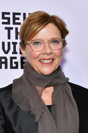Annette Bening kept it casual with this short side-parted 'do at the Museum of the Moving Image event.