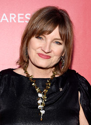 Christine Albert wore her hair in a tousled bob when she attended the MusiCares Person of the Year Gala.