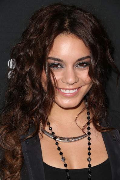More Pics of Vanessa Hudgens Long Braided Hairstyle (1 of 8) - Long Braided Hairstyle Lookbook - StyleBistro
