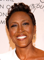 Robin Roberts went rocker-chic with this fauxhawk at the NAPW Conference.