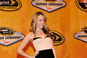 Singer Colbie Caillat attends the NASCAR Sprint Cup Series awards banquet at the Wynn Las Vegas Hotel on December 3, 2010 in Las Vegas, Nevada.