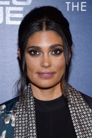 Rachel Roy went retro-glam with this beehive for the premiere of 'Shades of Blue' season 2.