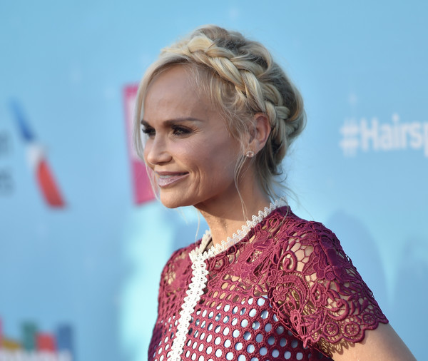 More Pics of Kristin Chenoweth Braided Updo (5 of 12) - Kristin Chenoweth Lookbook - StyleBistro
