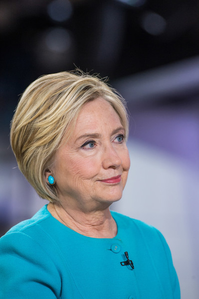 Hillary Clinton appeared on 'Today' wearing this short bob.