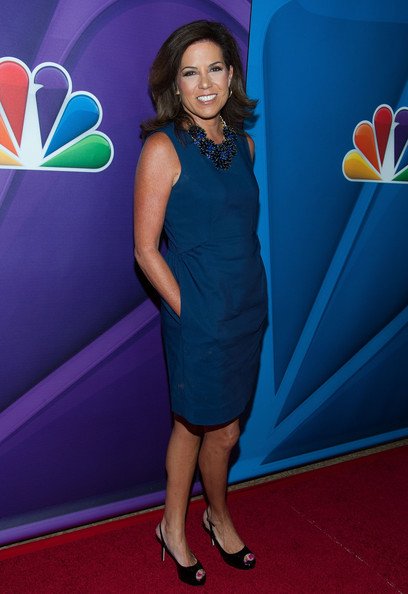 Michele Tafoya at the NBC TCA Summer Press Tour 2013