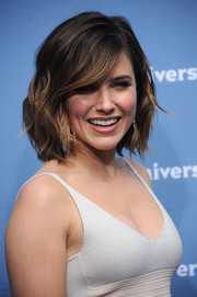 Sophia Bush was a total cutie at the NBCUniversal Upfront wearing this wavy bob.