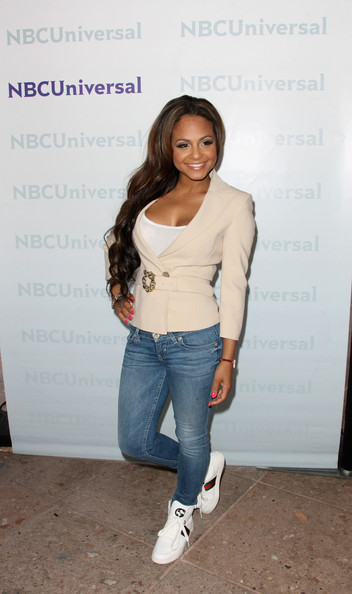 More Pics of Christina Milian Pink Nail Polish (1 of 5) - Nails Lookbook - StyleBistro