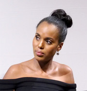 Kerry Washington styled her tresses into a twisted bun for the NYC special screening of 'Confirmation.'