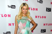 TV personality Paris Hilton arrives at NYLON Magazine's May Young Hollywood Issue Celebration at Bardot on May 4, 2011 in Hollywood, California.