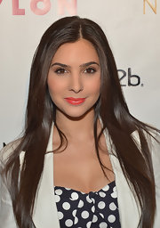 Camila Banus nailed the long and stick-straight hair look at the Nylon Young Hollywood Event.