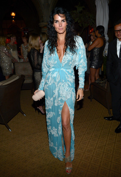 More Pics of Angie Harmon Long Wavy Cut (2 of 19) - Angie Harmon Lookbook - StyleBistro