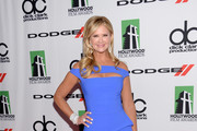 Nancy O'Dell Off-the-Shoulder Dress