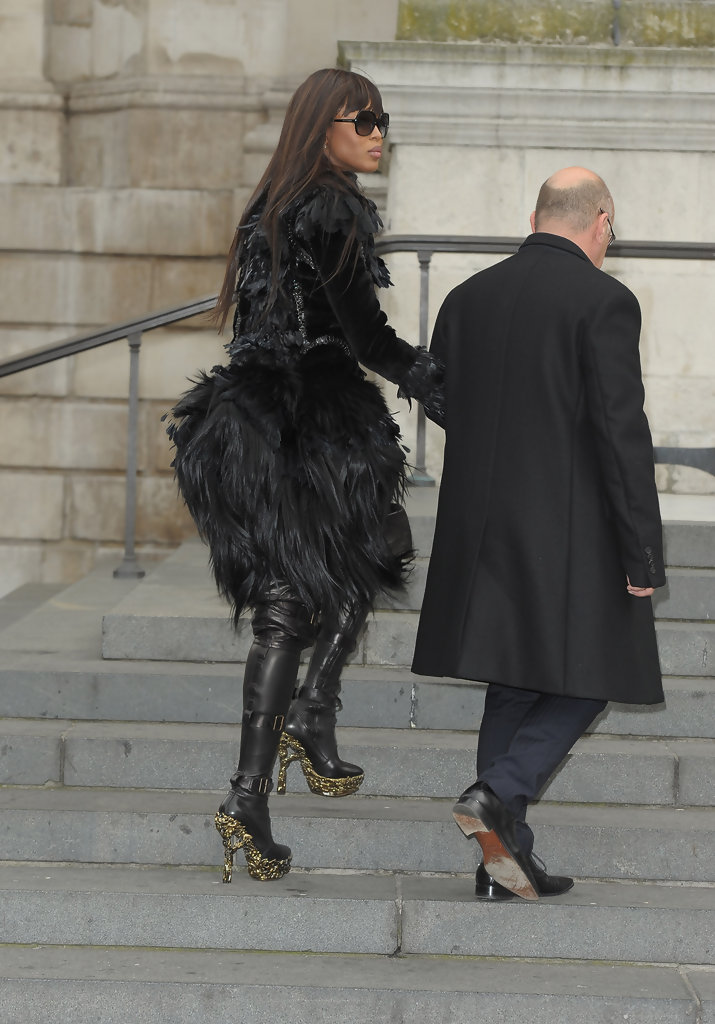 Naomi Campbell Over The Knee Boots Naomi Campbell Shoes