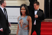 Naomi Campbell Cutout Dress