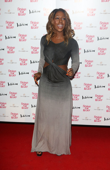 More Pics of Alexandra Burke Cutout Dress (1 of 3) - Alexandra Burke Lookbook - StyleBistro