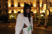 Naomi Campbell Stuns in Givenchy Couture at Monaco Royal Wedding