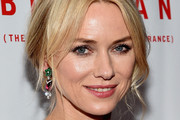 Naomi Watts Dangling Gemstone Earrings