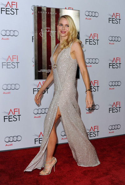 Naomi Watts Evening Sandals