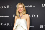 Naomi Watts Strapless Dress